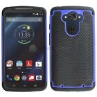 NEW LOT Hybrid Rugged Rubber Hard Case for Android Phone Motorola Droid Turbo