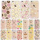 Thin Clear Pattern Soft TPU Gel Case Cover Skin for Apple iPhone 7 6 6S Plus UK