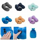 U-shape Neck Support Travel Pillow Automatic Neck Pillow for Airplanes/Cars/Home