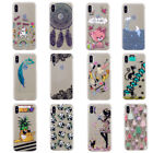 Sexy Lace Dreamcatcher Soft TPU Ultra Thin Crystal Phone Cover Case For iPhone X