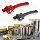 Black Red Ergonomic Smooth Edge Side Cut Manual Can Opener L