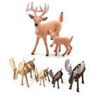 Deer Figure Christmas Doll White-tailed Reindeer Home Party Decoration Xmas Hot