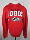 New Mexico Lobos Women Pullover Red Hoodie NCAA A11 MRB
