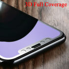 Newest Blue 3D Curved Full Cover Tempered Glass Screen Protector For iphone X