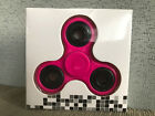 Brand New In Packet Hot Pink Hand Tri Fidget Spinner Focus Toy Australian Stock