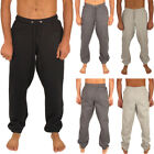 Mens Skinny Plain Slim Fit Gym Running Sports Exercise Joggers Sweatpants Bottom