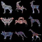 Beauty Printing Pattern Pin Brooch Animal Butterfly Womens Jewellery Party Gift