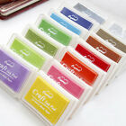 DIY Water Based Multi Colour Ink Pad For Rubber Stamps Paper Wood Craft Fabric
