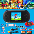 PXP 3 Slim Station Games Console 100's of Games Portable Christmas handhold gift