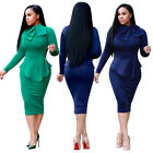 Elegant Women's Office Lady Formal Business Work Party Sheath Tunic Pencil Dress