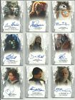 2017 Topps Star Wars Masterwork Vertical Auto Autograph Card - YOU PICK $29.95 USD on eBay