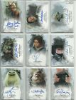 2017 Topps Star Wars Masterwork Rainbow Foil Auto Autograph Card #ed to 50 PICK $49.95 USD on eBay