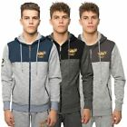 Santa Monica Polo Club Mens Fitted Hoodie Sports Activewear Hoody Sweat Top