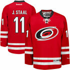Reebok Jordan Staal Carolina Hurricanes Mens Red Home Premier Jersey NHL
