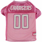 San Diego Chargers Pink Mesh Dog Jersey - NFL $24.95 USD