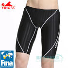 YINGFA Mens Swimwear FINA Approved Jammer Racing Competitive Swim trunks 9102