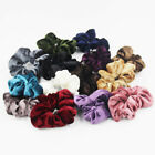 HOT Velvet Lint Hair Ring Elastic Ponytail Hair Scrunchie Sc