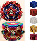 UK 3/5mm 216pcs Puzzle Magnet Balls Magic Cube 3D Ball Fidget Stress Reliever TY