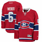 Reebok Shea Weber Montreal Canadiens Red Home Premier Player Jersey NHL