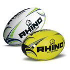 Rhino Rugby Cyclone Rugby Ball All Sizes Yellow or White