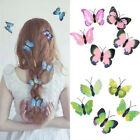 5pcs Butterfly Hair Clips Bridal Hair Accessories Wedding Photography Costume JR
