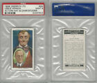 O2-123 Ogdens, Actors Natural & C. Studies, 1938, #24 Leslie Henson, PSA 9 Mint