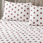 Brielle Fashion 100% Cotton Jersey Pom Pom Design Bed Linen Collection NEW