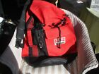 MARLBORO DUFFLE BAG PRETTY RED AND BLACK CARRY ON BAG