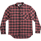 Quiksilver Motherfly Flannel Mens Shirt Long Sleeve - Apple Butter All Sizes