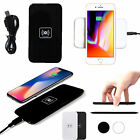 For iPhone 8/8Plus X Qi Wireless Fast Charging Dock Charger Mat Pad Plate Lot