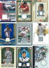 Baseball Jersey cards - Various Years and Brands - Pick your Favorites !!