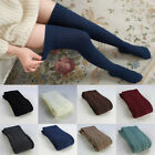 Women Girls Winter Warm Knitted Long Boot Socks Over Knee Thigh High Stockings