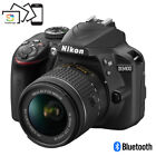 Nikon D3400 24.2 MP DSLR Camera w/ AF-P DX 18-55mm VR Lens Kit - Choose Color
