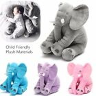 Elephant Pillow Soft Plush Stuff Toys Lumbar Doll Cushion Baby Valentine's Gift