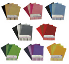 A4 Dovecraft Felt Sheets Packs Of Assorted Mixed Colours & Shades Craft Fabric