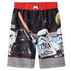 Lego Star Swars Darth Vader & Storm Trooper Swim Shorts Trunks Little Boys 4