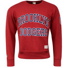 Majestic Brooklyn Dodgers Pull Over Mens Jumper Red A3BR05220RED15 UA101