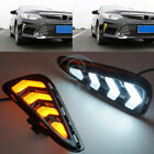 For Toyota Camry 2015-2016 Front Daytime Running Light Assembly White To Yellow