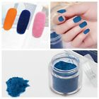Hot Sale Silky Velvet  Flocking Powder Decoration DIY Manicure Nail Art Tips 1PC