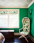 Plain  Emerald Green Wallpaper - Thick Textured - Paste The Wall - 51115434