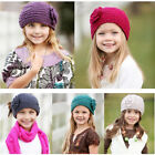 Fashion Winter Warmer Women Hair Band Knit Flower Headband Crochet Turban Wool