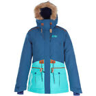 Picture Organic Apply Womens Jacket Snowboard - Petrol Blue All Sizes