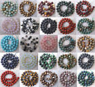 Wholesale Lot Natural Stone Gemstone Round Spacer Loose Beads 6MM 8MM 10MM 15.5""