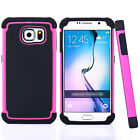 Shockproof Rugged Rubber Armor Hard Case Cover For Samsung Galaxy S7 / S7 Edge