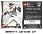 2010 Topps Ticket to Topps Town Baseball Set ** Pick Your Team **