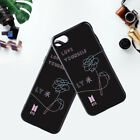 KPOP BTS Phone Case Bangtan Boys  LOVE YOURSELF Tempered Glass Phone Cover