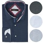 Alpine Swiss Wayne Men's Long Sleeve Button Down Dress Shirt Button Front Shirt