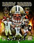 Drew Brees New Orleans Siants NFL licensed unsigned 8x10 Photo