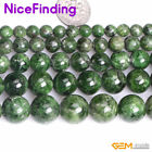 AA Grade Natural Green Diopside Gemstone Round Stone Beads For Jewelry Making 15