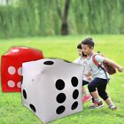 Giant 53*53cm PVC Air Blow Up Cube Number Inflatable Dice Development Toys Hot
